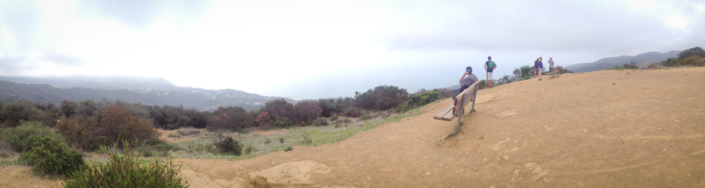 los liones trail pacific palisades california