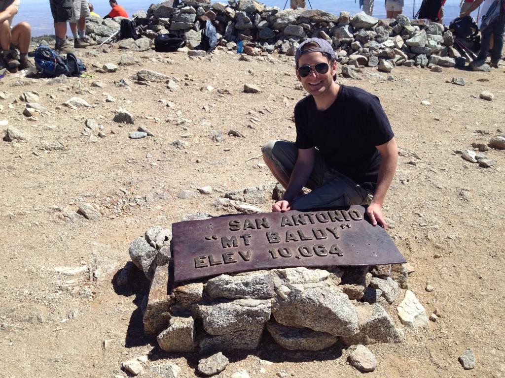 mt baldy summit