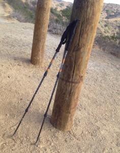cascade mountain carbon fiber trekking hiking poles