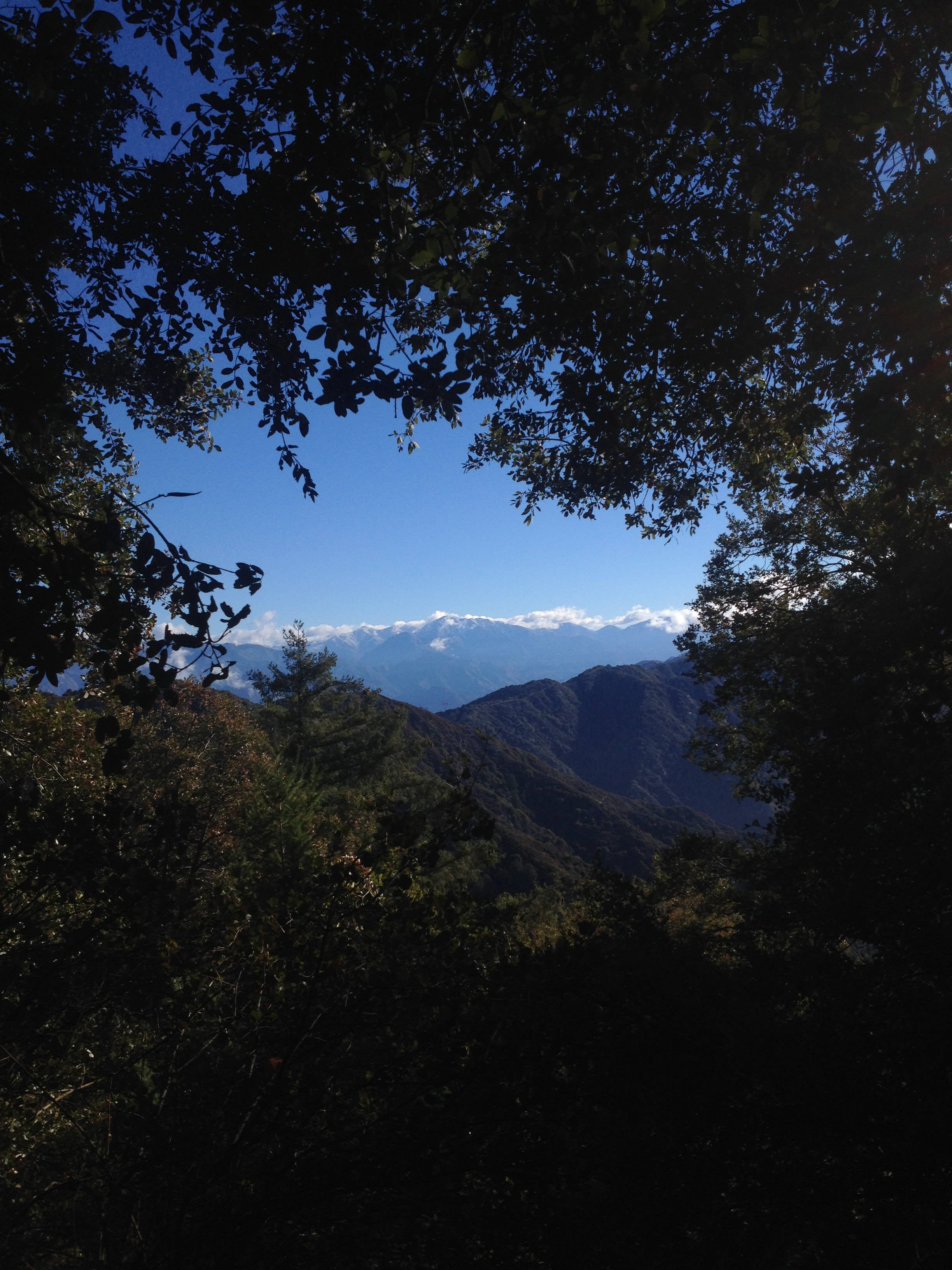 mt baldy view from mt wilson